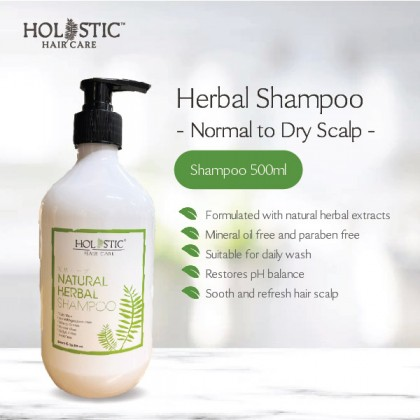 Herbal Shampoo 500ml (Normal to Dry Scalp)